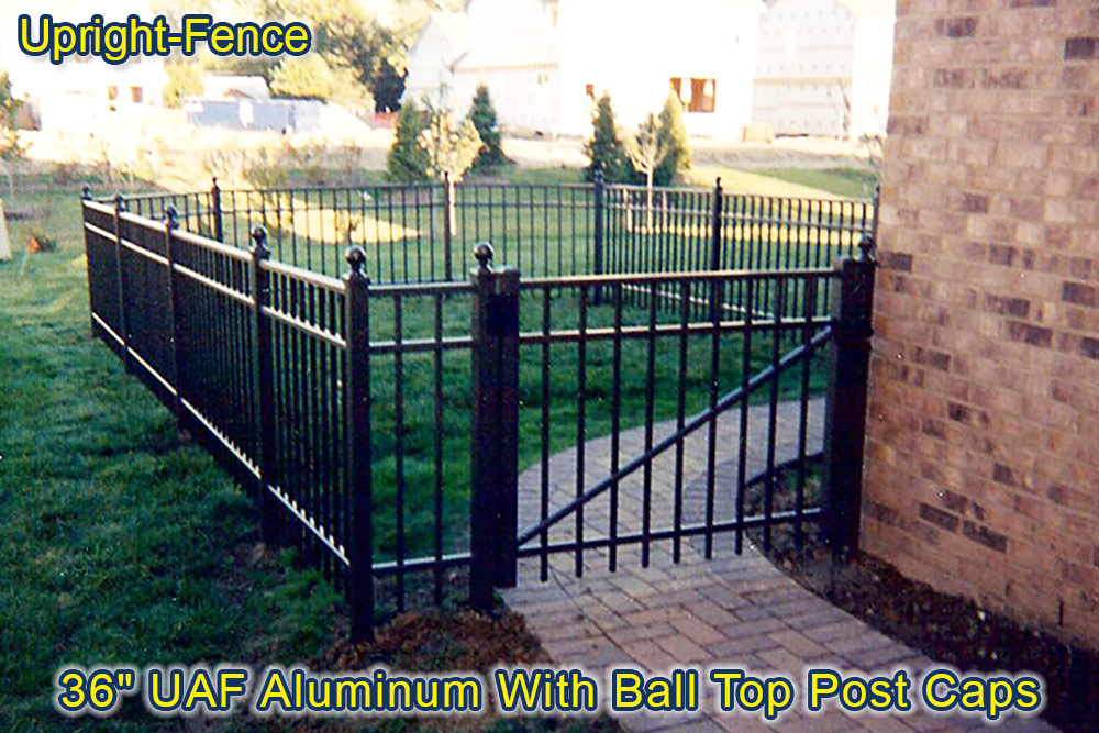 ornamental aluminum fencing upright fence westland mi