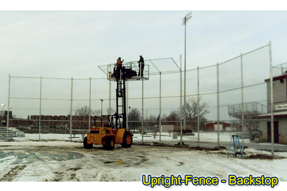 sports fencing Upright Fence westland mi