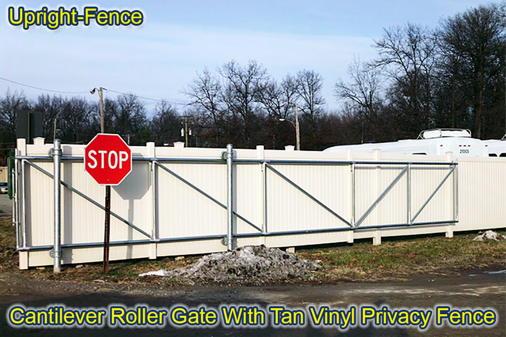 gates fencing Upright Fence westland mi