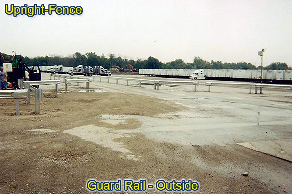 guard rails fencing upright fence westland mi