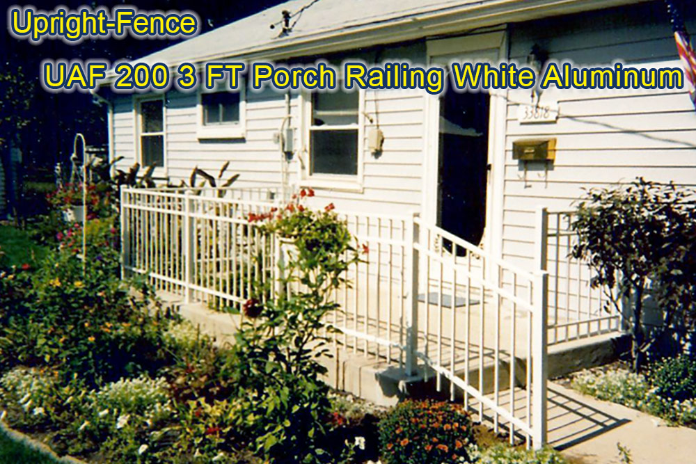 railing fencing upright fence westland mi