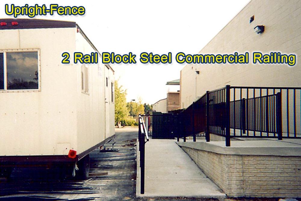 railing fencing upright fence westland mi