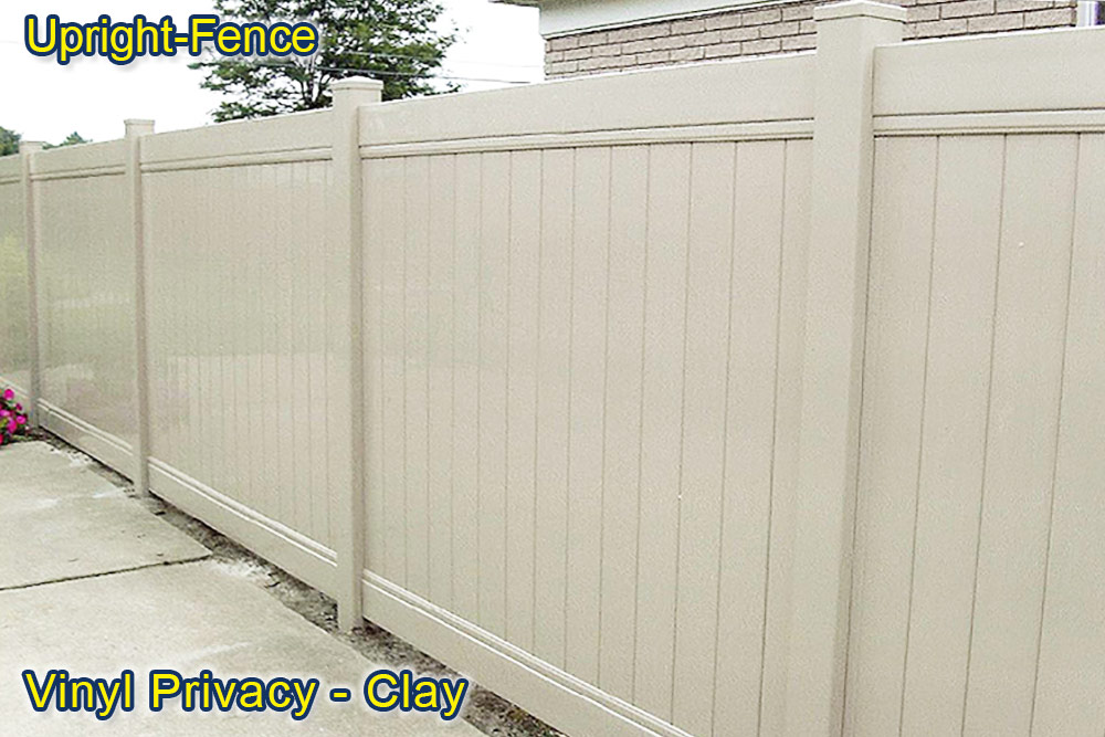 Vinyl Fence Upright Fence westland mi